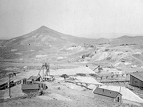 Turn of the Century mine in Central Nevada