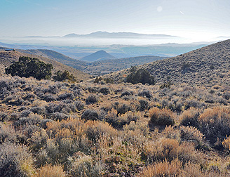 Inversion over the Great Basin