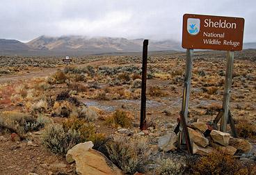 Sheldon NWR signage