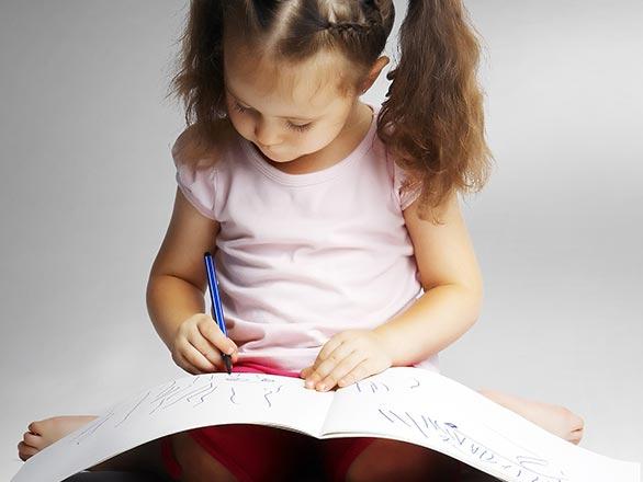 child readin