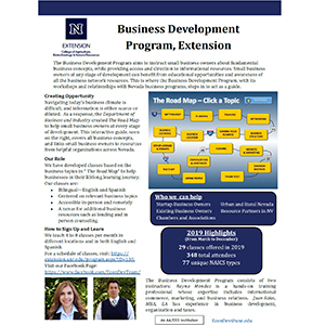 Business Development Program Summary