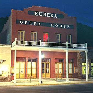 Eureka Opera House in Eureka, NV