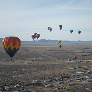 Lover's Aloft Balloon Festival in Pershing County, Nevada