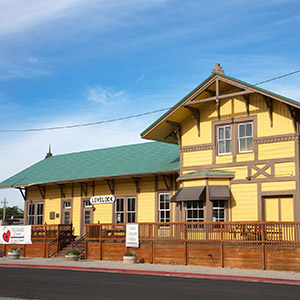 Central Pacific Railroad Depot, Lovelock, Nevada