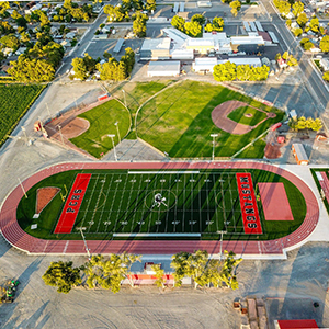 Aerial View of PCHS Football Field