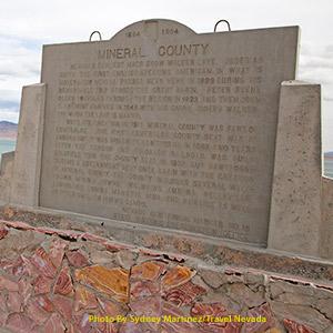 Mineral County Roadside Marker