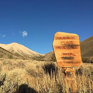 Boundary Peak, Esmeralda County, NV