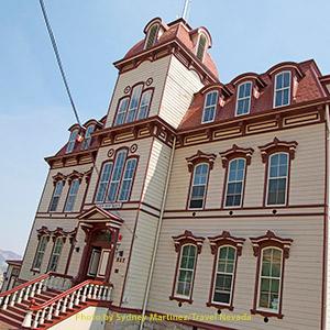 Fourth Ward School in Storey County, NV