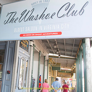 The Washoe Club, Oldest Saloon in Virginia City, NV