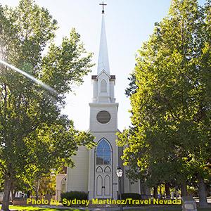 St Peter's Episcopal Church, Carson City, NV