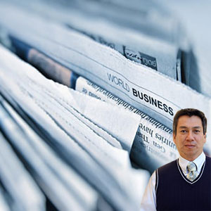 Several business papers with Juan Salas