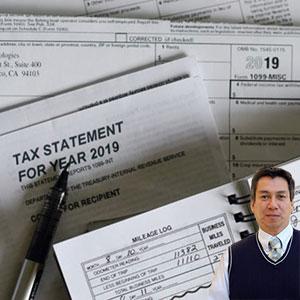 Tax records with Juan Salas