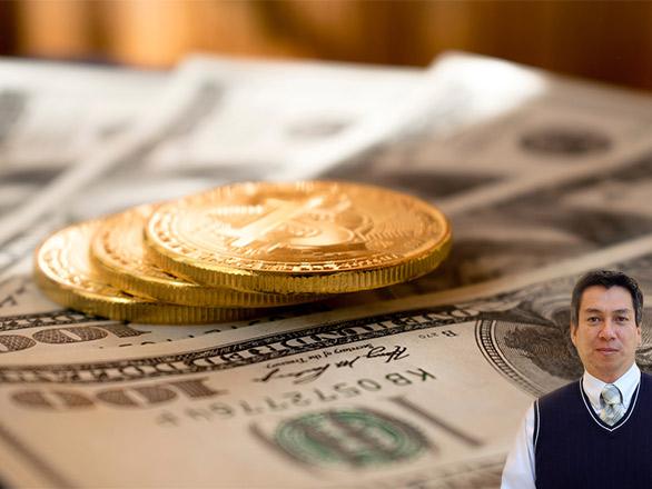 Coins and dollar bills with Juan Salas