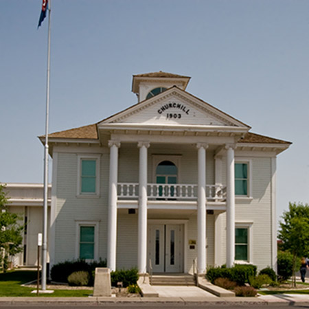 Churchill County Courthouse in Fallon, NV