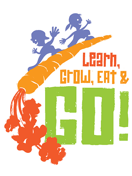 Learn, Grow, Eat & Go! JMG logo