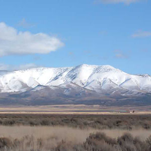 Eureka Diamond Mountains in Eureka, Nevada