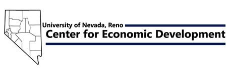 Center for Economic Development, University of Nevada, Reno Logo
