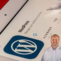 Wordpress app and Mike Bindrup
