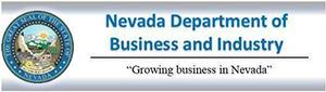 NV Dept of Business & Industry logo