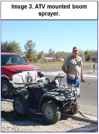 atv mounted boom sprayer