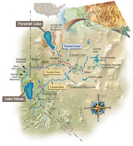 Truckee-Carson river system