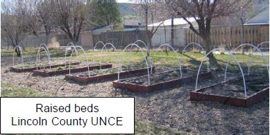 raised beds lincoln country UNCE