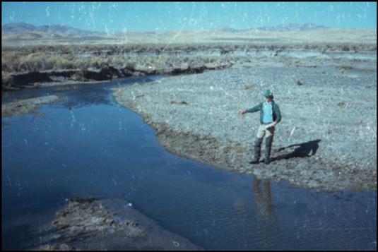 Maggie Creek in 1980
