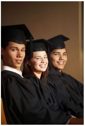 Teens graduating