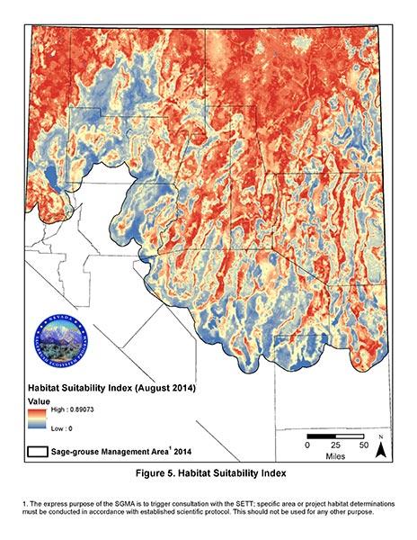 Habitat Suitability Index Image
