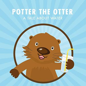 Potter the Otter book cover