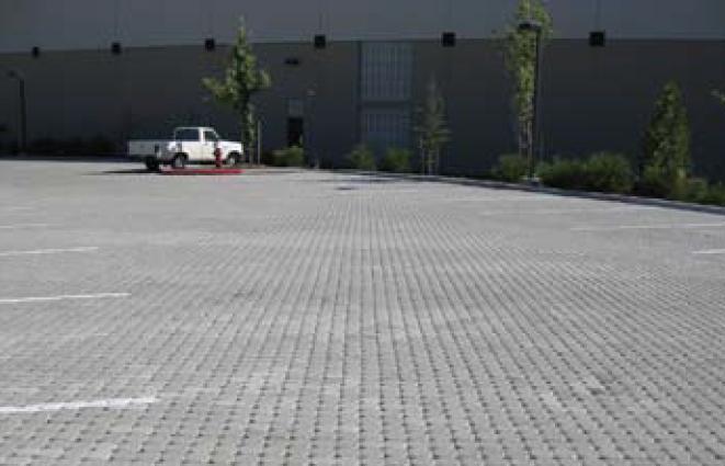 Car on pavement
