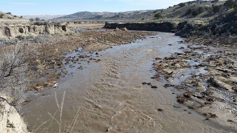 2017 photo of Susie Creek with improved management(shorter duration in either spring or fall).