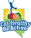 SNAP-Ed logo. Eat Healthy Be Active