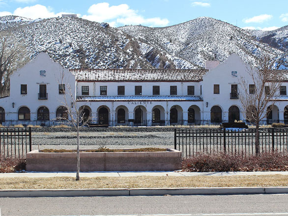 Caliente Train Depot in Lincoln County