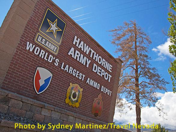 Hawthorne Army Depot, Hawthorne, NV
