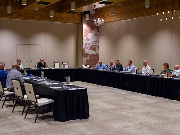 extension board meeting