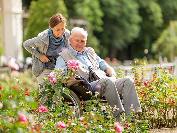 las vegas nursing home garden